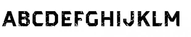 Dever Sans Rough Bold Font LOWERCASE