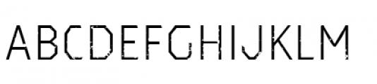 Dever Sans Rough Light Font LOWERCASE