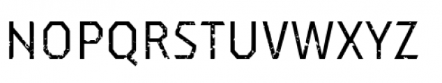 Dever Sans Rough Regular Font UPPERCASE
