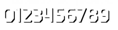 Dever Sans Shadow Regular Font OTHER CHARS
