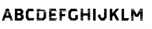 Dever Sans Wood Bold Font LOWERCASE
