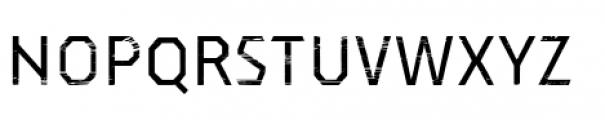 Dever Sans Wood Regular Font LOWERCASE