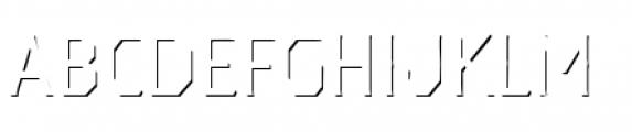 Dever Serif Accent Light Font UPPERCASE