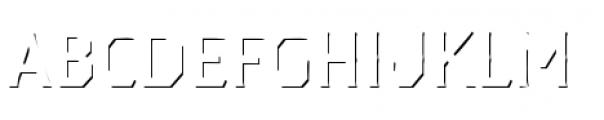 Dever Serif Accent Regular Font UPPERCASE