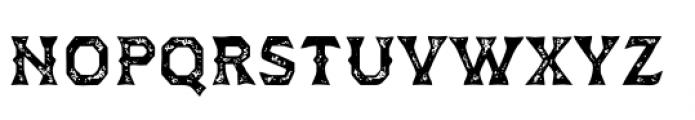 Dever Wedge Print Medium Font LOWERCASE