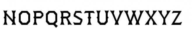 Dever Wedge Regular Font LOWERCASE