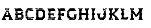 Dever Wedge Wood Medium Font LOWERCASE