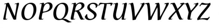 Dez Petranian Regular Italic Font UPPERCASE