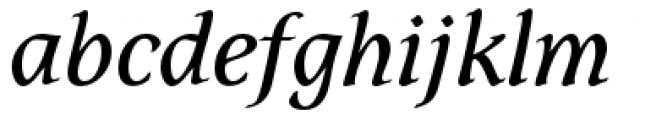 Dez Petranian Regular Italic Font LOWERCASE