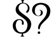 De Arloy Typeface Font OTHER CHARS