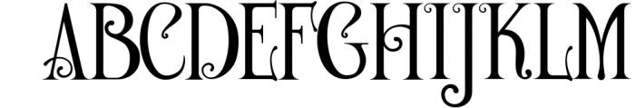 De Arloy Typeface Font UPPERCASE