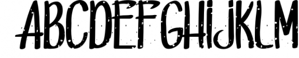 Dead sold 1 Font LOWERCASE