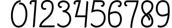 December - Sophisticated Monogram Font Font OTHER CHARS
