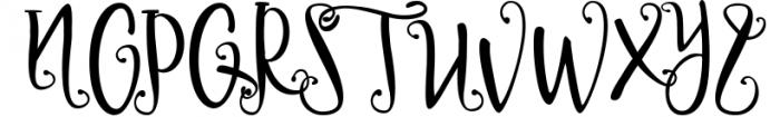Delaney Script 1 Font UPPERCASE