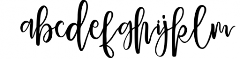 Delaney Script 1 Font LOWERCASE