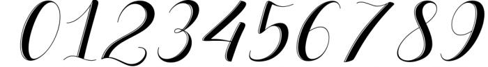Delaney Script Font OTHER CHARS