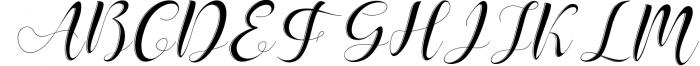 Delaney Script Font UPPERCASE