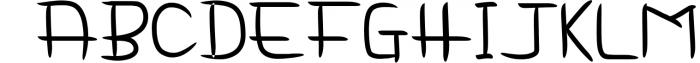 Delima Notes - Handwriting Font Font UPPERCASE