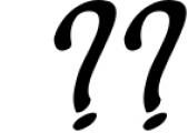 deep blue script handwritten font Font OTHER CHARS