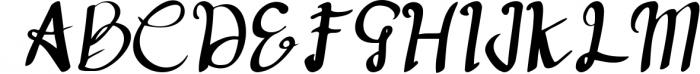deep blue script handwritten font Font UPPERCASE