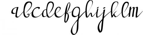 deep blue script handwritten font Font LOWERCASE