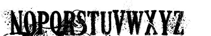DEAD SECRETARY Font UPPERCASE