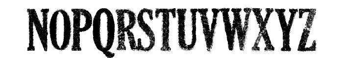 DEAD SECRETARY Font LOWERCASE