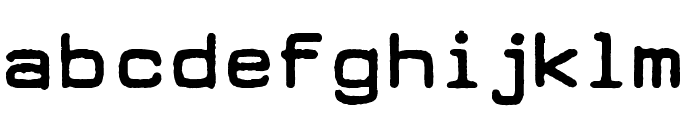 DEARBORN type Font LOWERCASE