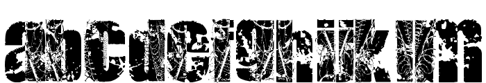 DEAT+DEAT Font LOWERCASE