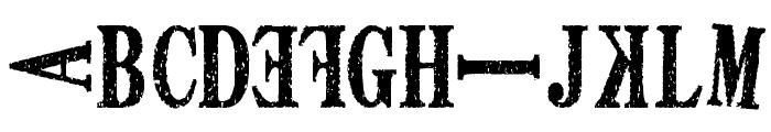DEATH FONT ver1.0 Font UPPERCASE