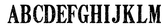 DEATH FONT ver1.0 Font LOWERCASE