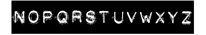 DEATH STRUGGLE Font UPPERCASE