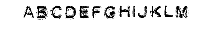 DEATH STRUGGLE Font LOWERCASE