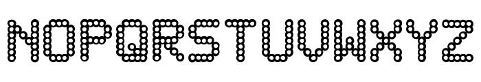 DELAYED Font UPPERCASE