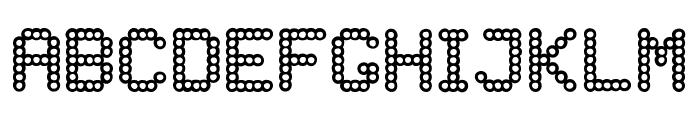 DELAYED Font LOWERCASE