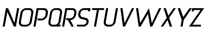 DERNIER Italic Font UPPERCASE