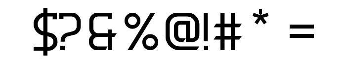 DERNIER Font OTHER CHARS