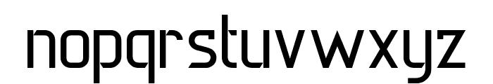 DERNIER Font LOWERCASE