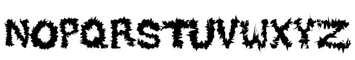 DESERT AREA-Q Font LOWERCASE