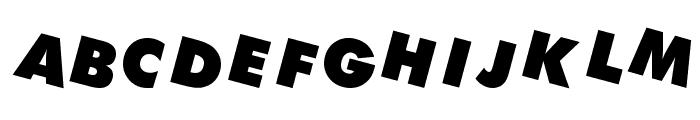 DEVO Font UPPERCASE