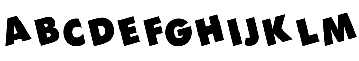 DEVO Font LOWERCASE