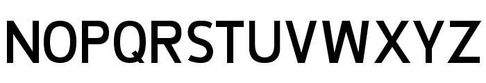 De Luxe Bold Font UPPERCASE