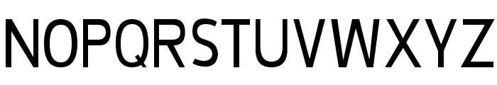 De Luxe Condensed Font UPPERCASE