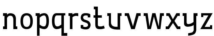 De Luxe Hang Font LOWERCASE