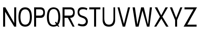 De Luxe Light Condensed Font UPPERCASE