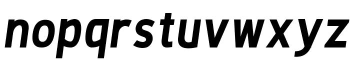 De Luxe Next Bold Italic Font LOWERCASE