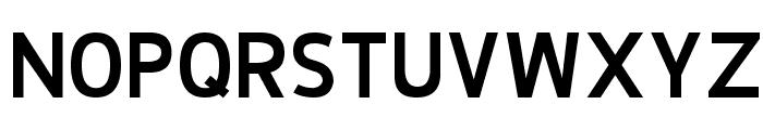 De Luxe Next Bold Font UPPERCASE