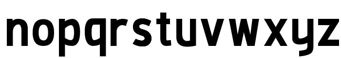 De Luxe Next Bold Font LOWERCASE
