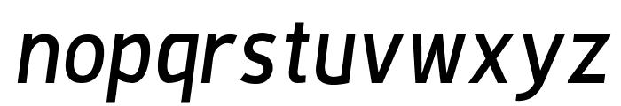De Luxe Next Italic Font LOWERCASE