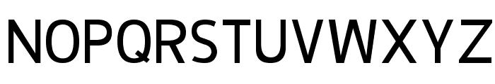 De Luxe Next Font UPPERCASE